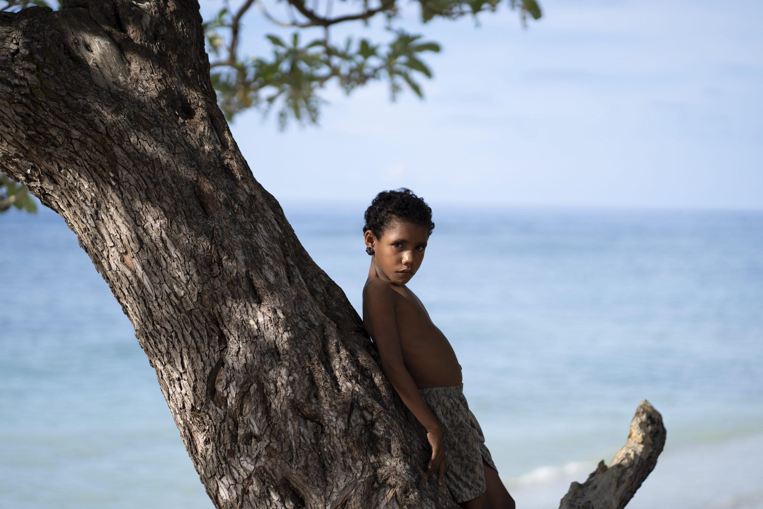 True North PNG Tribe Kid