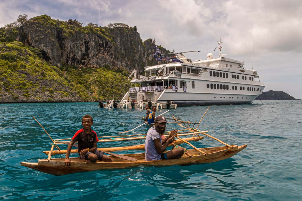 True North adventure cruise at PNG