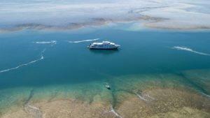 True North cruises with Horizontal Falls