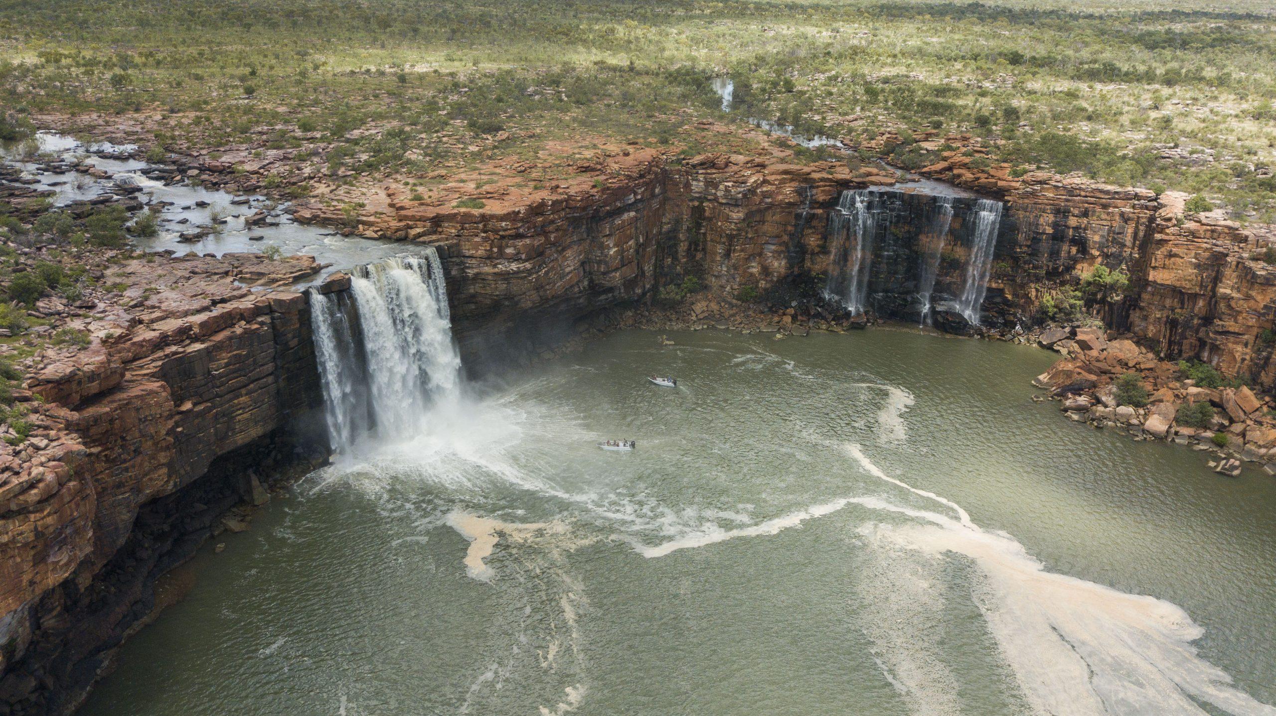 Kimberley Waterfalls    True North