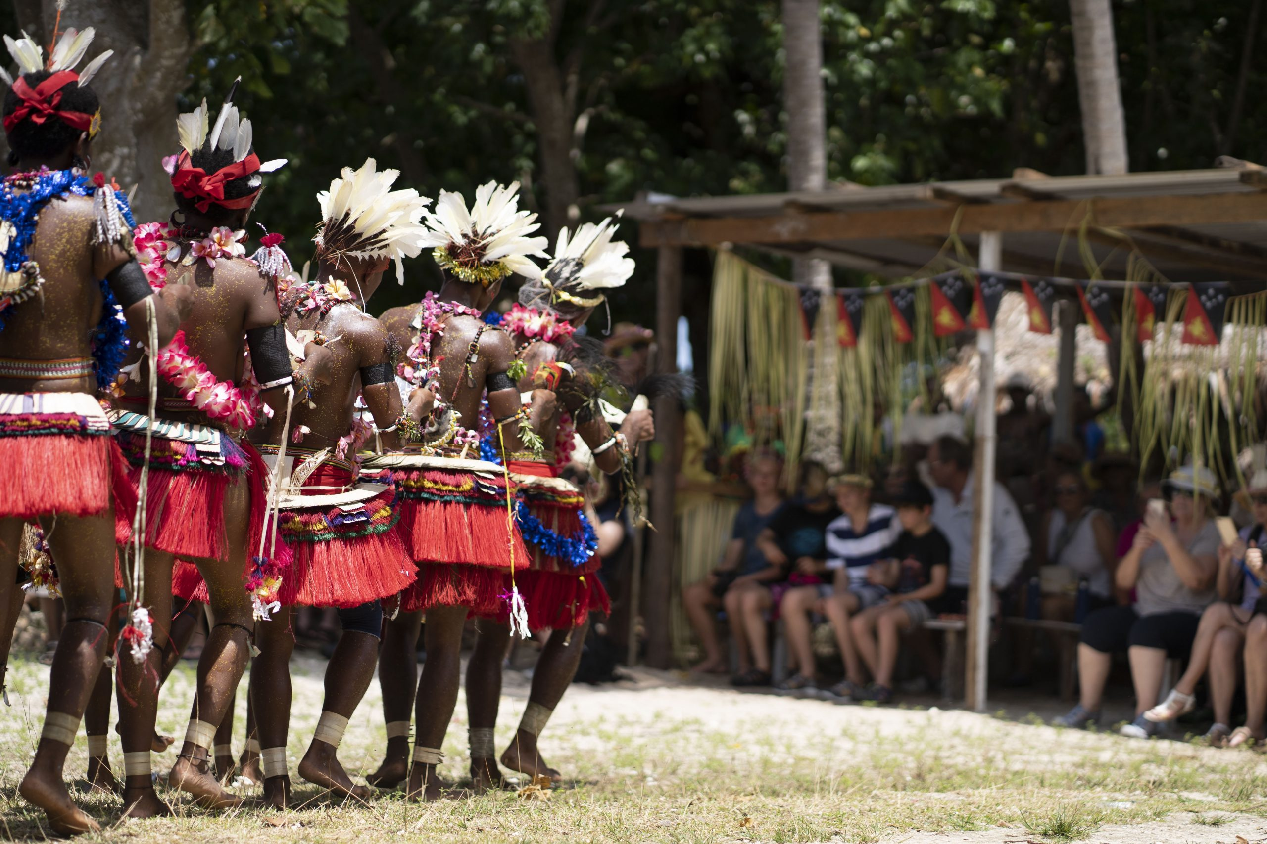 PNG Tribal Dance - PNG Adventure paradise cruise
