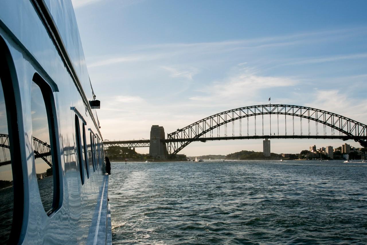 Harbour Bridge - True North Cruises from Sydney
