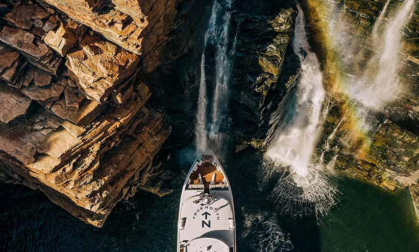 Kimberley Waterfalls | True North Adventure Cruise